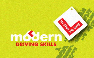 Modern Driving Skills Website Design